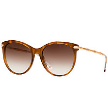 Buy Gucci GG3711 Cat's Eye Sunglasses, Brown Online at johnlewis.com
