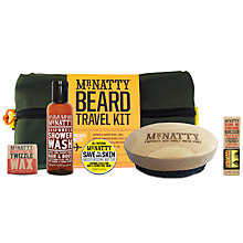 Buy Mr Natty Beard Wash Travel Kit, Green Online at johnlewis.com