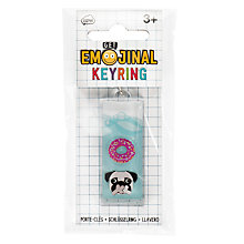 Buy Emojinal Liquid Keyring Online at johnlewis.com