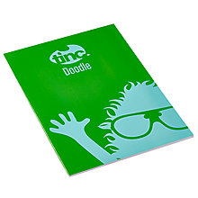 Buy Tinc A4 Doodle Notebook Book Online at johnlewis.com