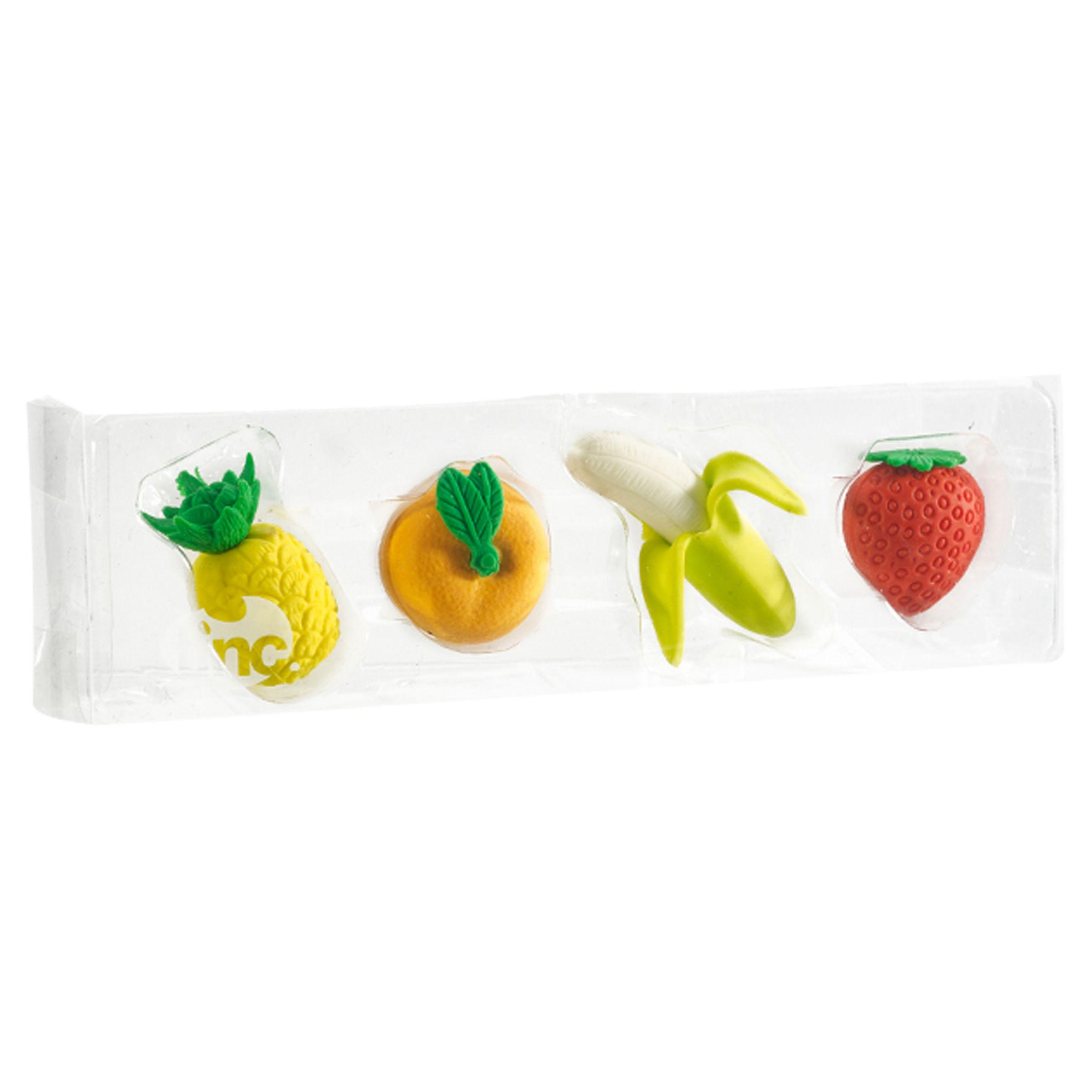 Tinc Tinc Fruit Eraser Collection