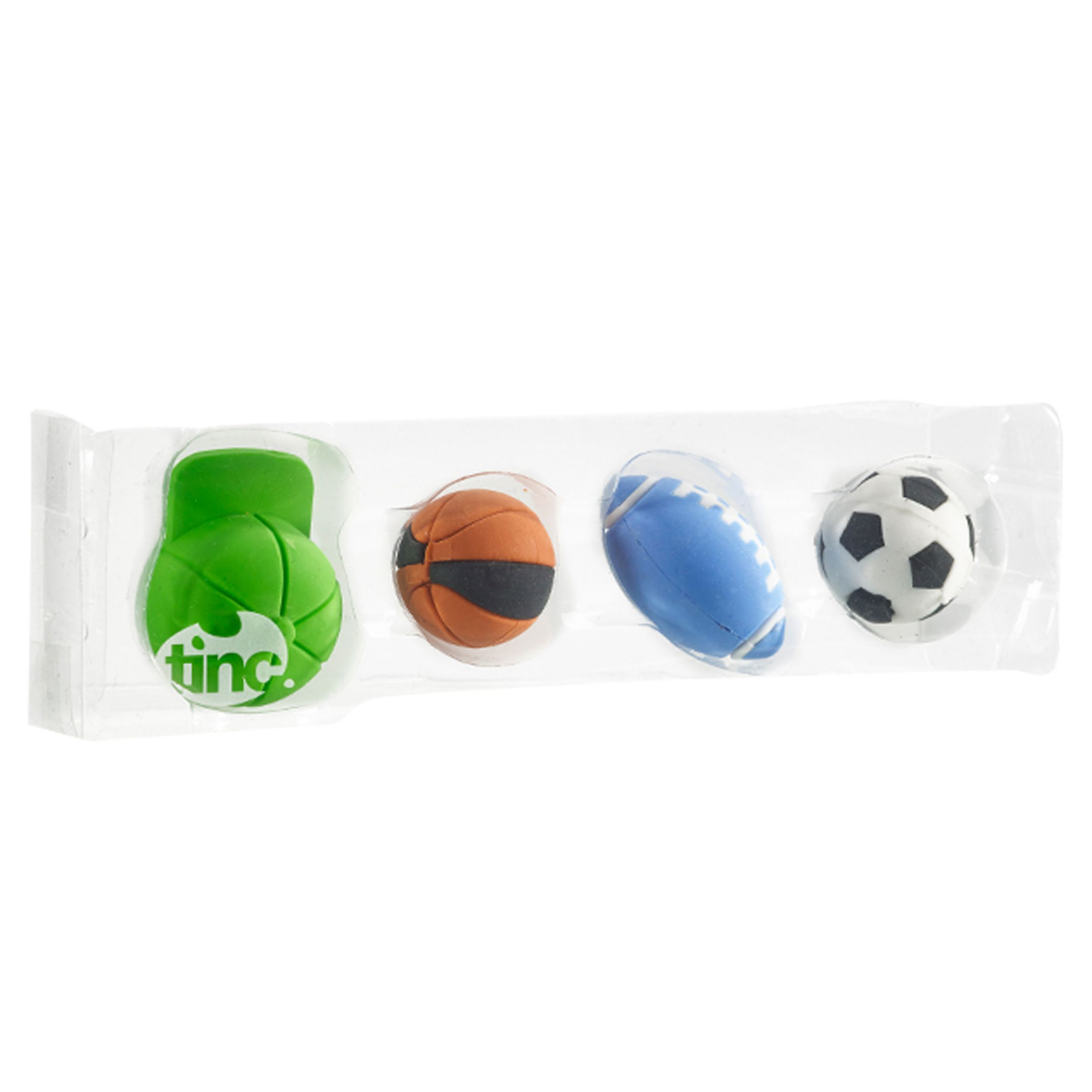 Tinc Tinc Sports Eraser Collection