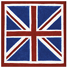 Buy Caspari Union Jack Lunch Napkins, Pack of 20 Online at johnlewis.com
