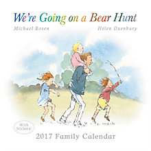 Buy Portico We're Going On A Bear Hunt 2017 Family Calendar Online at johnlewis.com