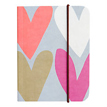 Buy Caroline Gardner Hearts Small Notebook Online at johnlewis.com