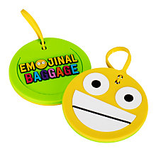 Buy Emojinal Luggage Tag Online at johnlewis.com