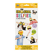 Buy Emojinal Selfie Prop Designs Online at johnlewis.com