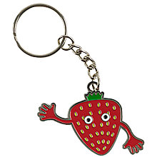 Buy Tinc Enamel Keyring Online at johnlewis.com
