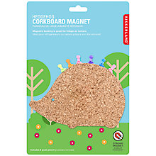 Buy Kikkerland Corkboard Magnetic Hedgehog Online at johnlewis.com