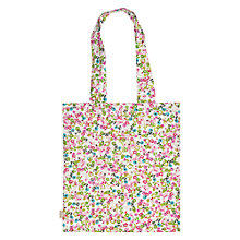 Buy Caroline Gardner Ditsy Canvas Tote Bag, Multi Online at johnlewis.com