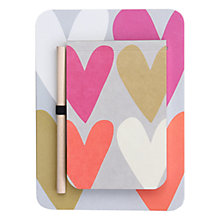 Buy Caroline Gardner Hearts Kitchen Jotter Online at johnlewis.com