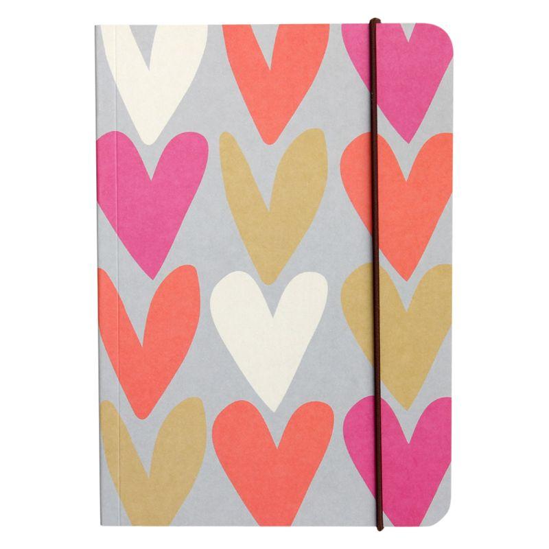 Caroline Gardner Caroline Gardner Hearts A5 Notebook