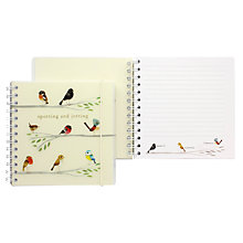 Buy Go Stationery Matt Sewell Spotting And Jotting Square Notebook Online at johnlewis.com