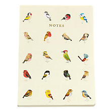 Buy Go Stationery Matt Sewell Songbirds A5 Notebook Online at johnlewis.com
