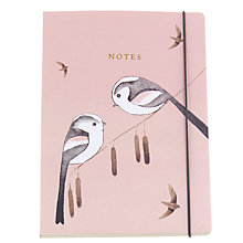 Buy Go Stationery Matt Sewell Long Tailed A5 Notebook Online at johnlewis.com