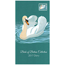 Buy Portico Royal Mail Birds Of Britain 2017 Diary, Slim Online at johnlewis.com