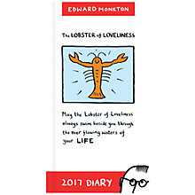 Buy Portico Edward Monkton 2017 Diary, Slim Online at johnlewis.com