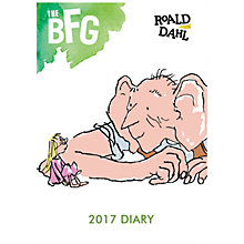 Buy Roald Dahl A6 The Big Friendly Giant 2017 Flexi Bound Diary Online at johnlewis.com