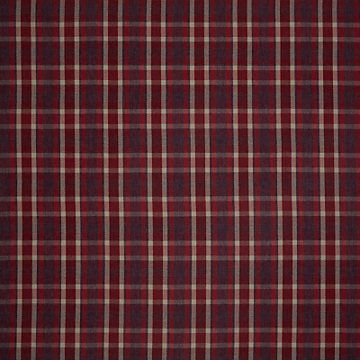 John Lewis Windermere Check Furnishing Fabric, Red