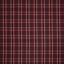 Buy John Lewis Windermere Check Furnishing Fabric, Red Online at johnlewis.com