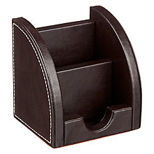 Buy John Lewis Pu Phone Holder, Brown Online at johnlewis.com