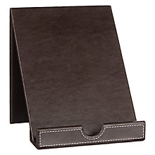 Buy John Lewis Pu Tablet Holder, Brown Online at johnlewis.com
