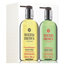 Buy Molton Brown Orange & Bergamot and Lime & Patchouli Hand Wash Set Online at johnlewis.com