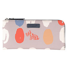 Buy Radley DNA Large Zip Purse, Grey Online at johnlewis.com