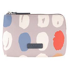 Buy Radley DNA Small Zip Cosmetic Case, Grey Online at johnlewis.com