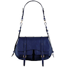 Buy Radley Grosvenor Medium Shoulder Bag, Navy Online at johnlewis.com