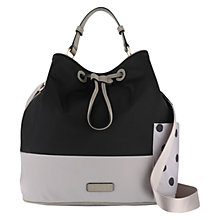 Buy Radley Cadnam Large Drawstring Grab Bag, Black Online at johnlewis.com