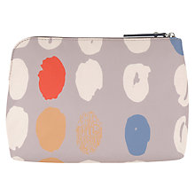 Buy Radley DNA Medium Zip Cosmetic Case, Grey Online at johnlewis.com