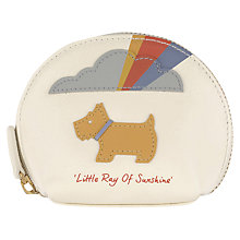 Buy Radley Little Ray of Sunshine Small Leather Coin Purse Online at johnlewis.com