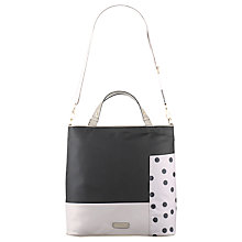 Buy Radley Cadnam Large Zip Top Multiway Bag, Black Online at johnlewis.com