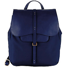 Buy Radley Grosvenor Medium Backpack, Navy Online at johnlewis.com