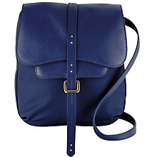 Buy Radley Grosvenor Small Across Body Bag, Navy Online at johnlewis.com