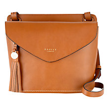 Buy Radley Tarling Medium Leather Flap Over Across Body Bag Online at johnlewis.com