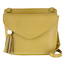 Buy Radley Tarling Medium Leather Flap Over Across Body Bag, Reed Green Online at johnlewis.com