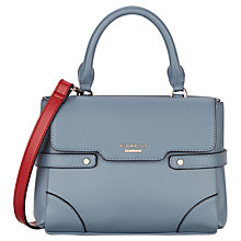 Buy Fiorelli Grace Mini Satchel, Powder Blue Online at johnlewis.com