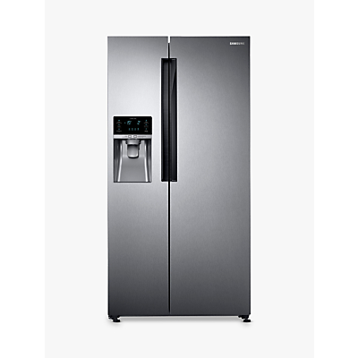 Samsung RS58K6387SL American Style Fridge Freezer, A+ Energy Rating, 90cm Width, Silver