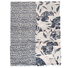 Buy Hobbs Erin Scarf, Pink/Grey Online at johnlewis.com