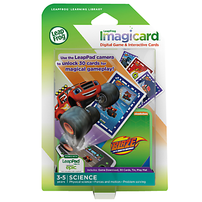LeapFrog ImagicCard Blaze and the Monster Machines Game, Ages 3-5 yrs