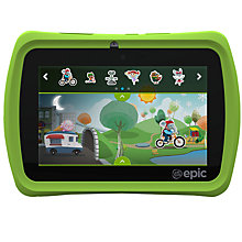 Buy LeapFrog Epic Android Based Kids Tablet, Ages 3-9yrs Online at johnlewis.com