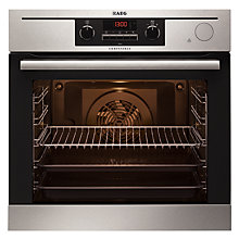 Buy AEG BP501432WM Built-In Multifunction Single Oven, Stainless Steel Online at johnlewis.com