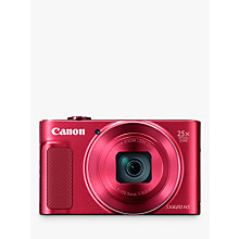 Buy Canon PowerShot SX620 Digital Camera, Red and Adobe Premiere Elements 15 Online at johnlewis.com