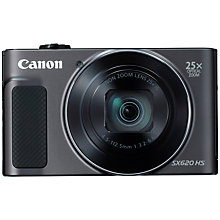 Buy Canon PowerShot SX620 Digital Camera, Black and Adobe Premiere Elements 15 Online at johnlewis.com