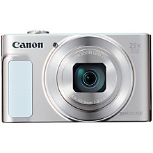 Buy Canon PowerShot SX620 Digital Camera, White and Adobe Photoshop Elements 15 Online at johnlewis.com