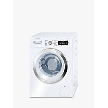 Buy Bosch WAW28750GB Freestanding Washing Machine, 9kg Load, A+++ Energy Rating, 1400rpm Spin, White Online at johnlewis.com