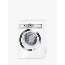 Buy Bosch WAYH8790GB Freestanding Washing Machine with Home Connect, 9kg Load, A+++ Energy Rating, 1400rpm Spin, White Online at johnlewis.com