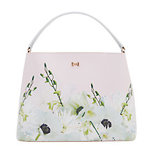 Buy Ted Baker Candise Petal Bow Tote Bag, Nude Pink Online at johnlewis.com